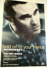 MORRISSEY Hold On To Your Friends ORIGINAL Promotional POSTER 13x20 inches