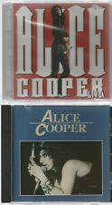 ALICE COOPER live 2002 + 8 song IMPORT 2 CD's  NEW 9 track    ONN 52