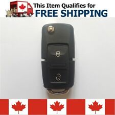 Volkswagen 2 Button Folding Remote Key Fob Shell VW Golf MK4 Without Blade