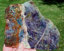 KALEIDOSCOPE PRISM STONE SLAB 290 grams agate/jasper/rock/cab/rough/crystal