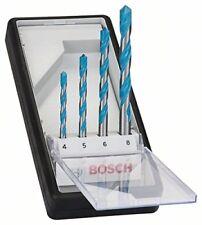 Set 4 brocas multiuso Bosch robust Line Cyl-9