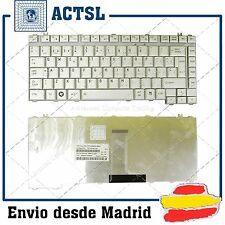 Teclado Español para TOSHIBA Tecra M11-17V PLATA