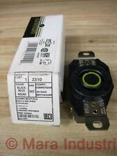 Leviton 2310 Locking Receptacle 20A 125V