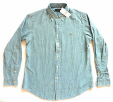 Ropa de hombre azul Ralph Lauren 100% algodón