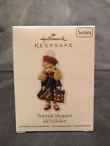 Hallmark 2011 Yuletide Shopper Madame Alexander Series Christmas Ornament