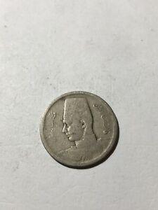 Coin - Egypt 🇪🇬 King Farouk Coin #B360