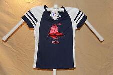 BOSTON RED SOX Fan Fashion DRAFT ME JERSEY/Shirt MAJESTIC Womens Small  NWT $50