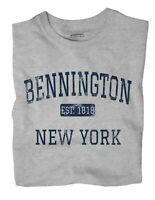 Bennington New York NY T-Shirt EST