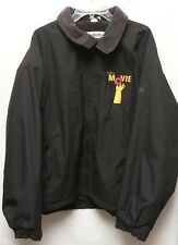 The Simpsons MOVIE 2007 Cast & Crew Columbia Black Jacket Embroidered Donut XL