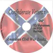 Confederate Veteran - Vintage Magazines American Civil War 33 Volumes PDF on DVD