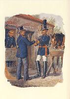 AK: Reichs-Postverwaltung, Landbriefträger und Postillion, 1871 (2)