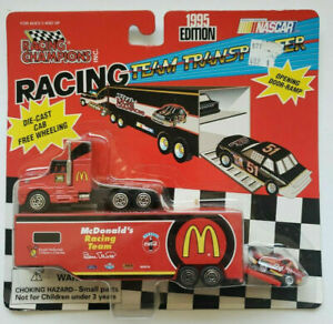 1995 New Racing Champions Team Transporter #94 Bill Elliot McDonald's SH4