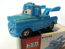 Disney Pixar Cars Blue Tokyo Tow Mater Metal toy TAKARA Tomy Tomica New in Box