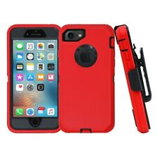 For iPhone 7 8 Plus Shockproof Cover Case with Belt Clip fits OtterBox Defender