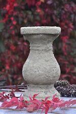 1x Kerzenständer Keramik Patina Höhe 30 cm Shaby Style auf alt gemacht Brynxz