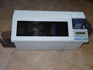Kartendrucker ZEBRA P420C, Plastikkartendrucker, Plastikkarten