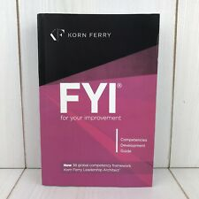 FYI For Your Improvement Korn Ferry Competencies Development Guide Paperback