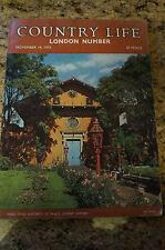 November Country Life Architecture, Art & Design Magazines