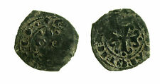 pcc2020_2) Messina Carlo I d' Angiò (1266-1282) Denaro Re di Gerusalemme MIR 167
