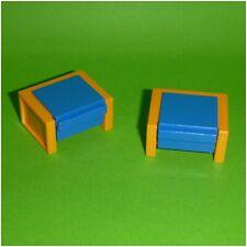 System X 4,5 x 6,0 cm grau Raumteiler Trennwand Halterung Playmobil
