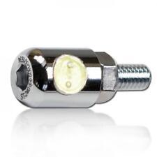 LED-Kennzeichenbeleuchtung Byte chrom E-geprüft Halter Motorrad Nummernschild