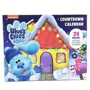 Blues Clues And You Countdown Advent Calendar 24 Pieces 2021 Just Play
