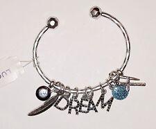 Authentic Lucky Brand Silver Tone, Dream Charm Bracelet, NWT
