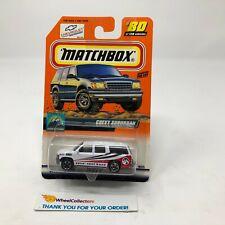 Chevy Suburban #80 * White * Matchbox * G27