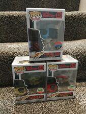 The Warriors Baseball Fury Funko POP 824! Set of 3 + Pop Protectors. ..