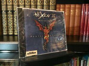 Hexen 2 - Portal Of Praevus - 1998 Activision/Raven - Factory Sealed - PC Game
