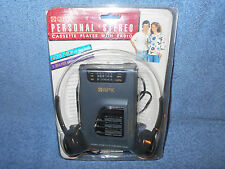 GPX C3110 PERSONAL STEREO CASSETTE PLAYER / RADIO W/ 3 BAND GRAPHIC EQUALIZER