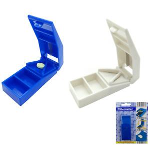 Tablettenteiler Pillenteiler Pillenschneider Tablettenschneider Medikamentenbox