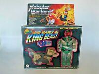 Vintage 1985 MOTU Bootleg Nebular Warlords Big Jaws King Beast Zoids in Box