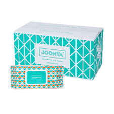 Joonya Non-Toxic, Biodegradable Baby Wipes - 12 Packs x 80 Wipes - Free Delivery