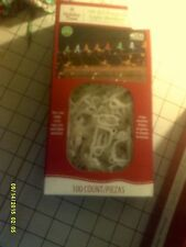 NEW Holiday Time 100 Count All-Purpose Light Holder Clips In Box FREE SHIPPING