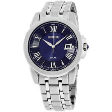 Seiko Le Grand Sport Blue Dial Stainless Steel Men's Watch SNE395