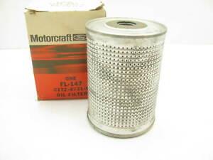 Motorcraft FL-147 Oil Filter Replaces C1TZ-6731-D CH330PL 51271 L30049 P49 PT269