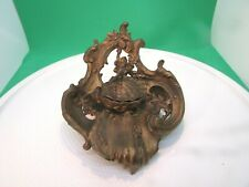 Estate Find - Bronze Dore Rococcol French Style Inkwell