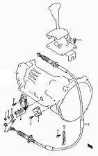 SHIFT CABLE Auto Trans GEAR SELECT 99-03 SUZUKI XL7 VITARA GND VITARA SQ Escudo