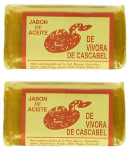2x Jabon de Aceite de Vibora de Cascabel RattleSnake Soap Treatment Skin