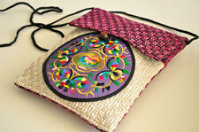 Ethnic Style Casual Messenger Bag/Purse Elegant Embroidery Wood Button Closure