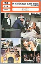 LA DERNIERE FOLIE DE MEL BROOKS - Feldman (Fiche Cinéma mod.B) 1976 Silent Movie