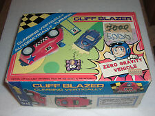 80's Vintage Toy Battery Operated Car Zero Gravity Cliff Blazer Mib Taiwan