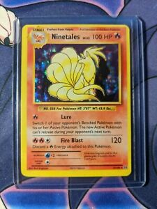 Ninetales HOLO RARE 15/108 Pokemon TCG XY Evolutions Card NM