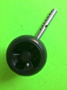 Adjustable left front/right rear gauge wheel/arm assy John Deere 54C 62C mowers.
