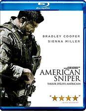 NEW BLU-RAY // AMERICAN SNIPER - Bradley Cooper, Sienna Miller, Jake McDorman, L