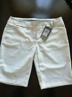 Under Armour Performance Heat Gear Fitted Golf Shorts Bermuda Stretch Size 10