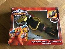 Power Rangers Ninja Storm Lightning Riff Blaster Cyclone Force RARE MINT