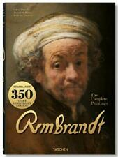REMBRANDT ~ COMPLETE PAINTINGS ~ PROFUSELY ILLUS ~ XL ~ TASCHEN HARDCOVER