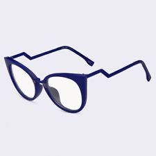 Women Cat Eye Reading Glasses Clear Lens Optical Eyeglasses Vintage Plain Glasse